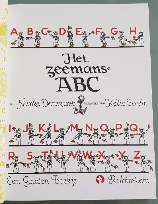 Zeemans ABC gouden boekje over de zee