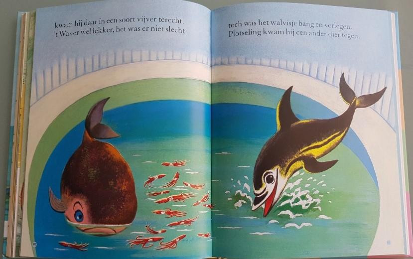 Het walvisje gouden boekje over de zee