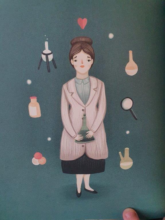 Prentenboek Marie Curie