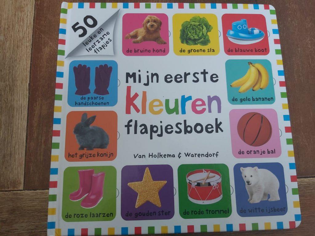 Mijn eerste kleuren flapjesboek