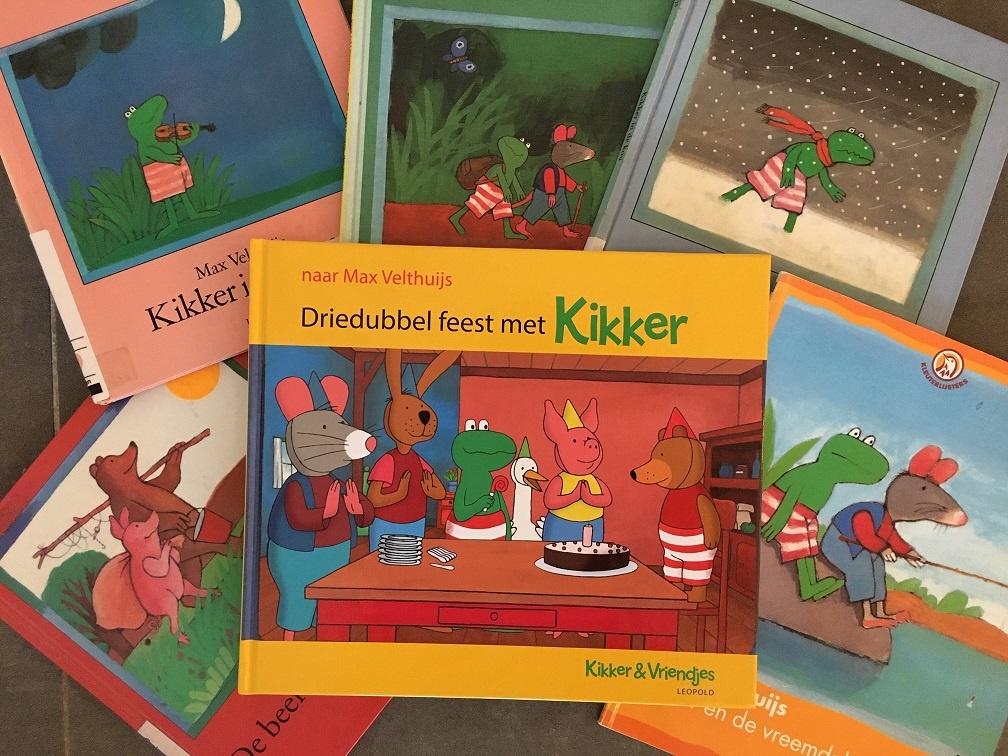 boeken van kikker