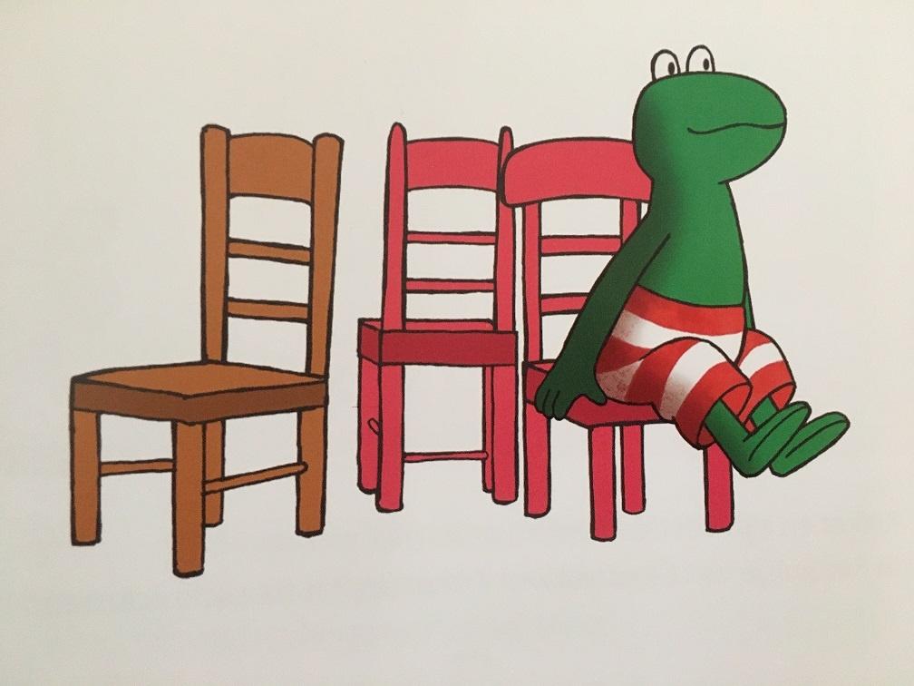 stoelendans met kikker
