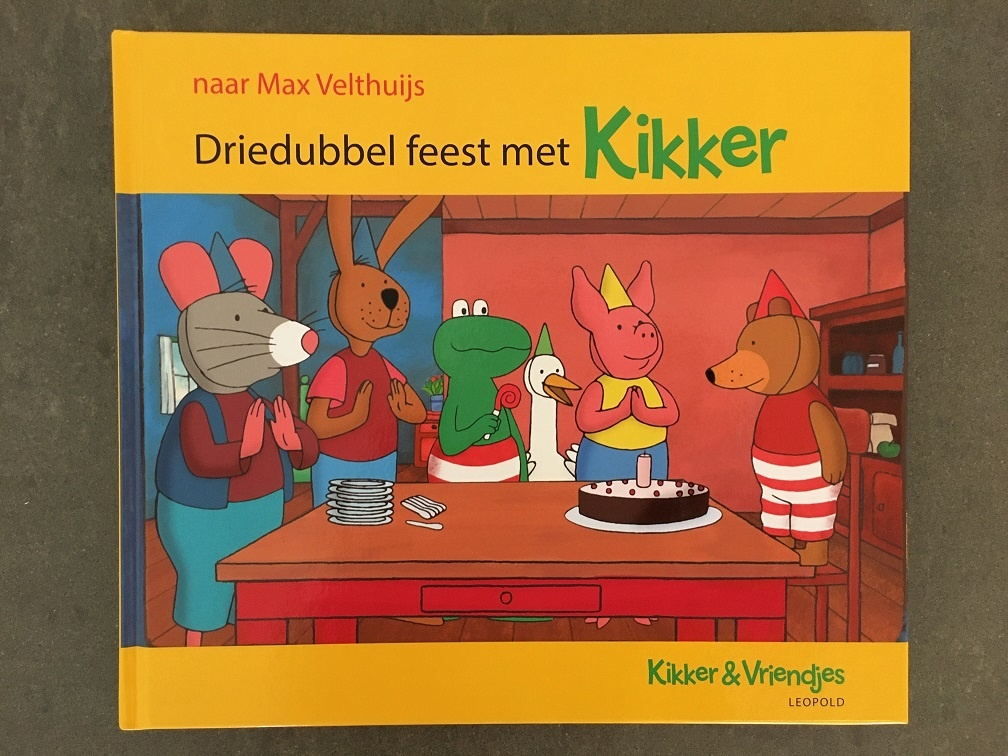 Driedubbel feest met Kikker