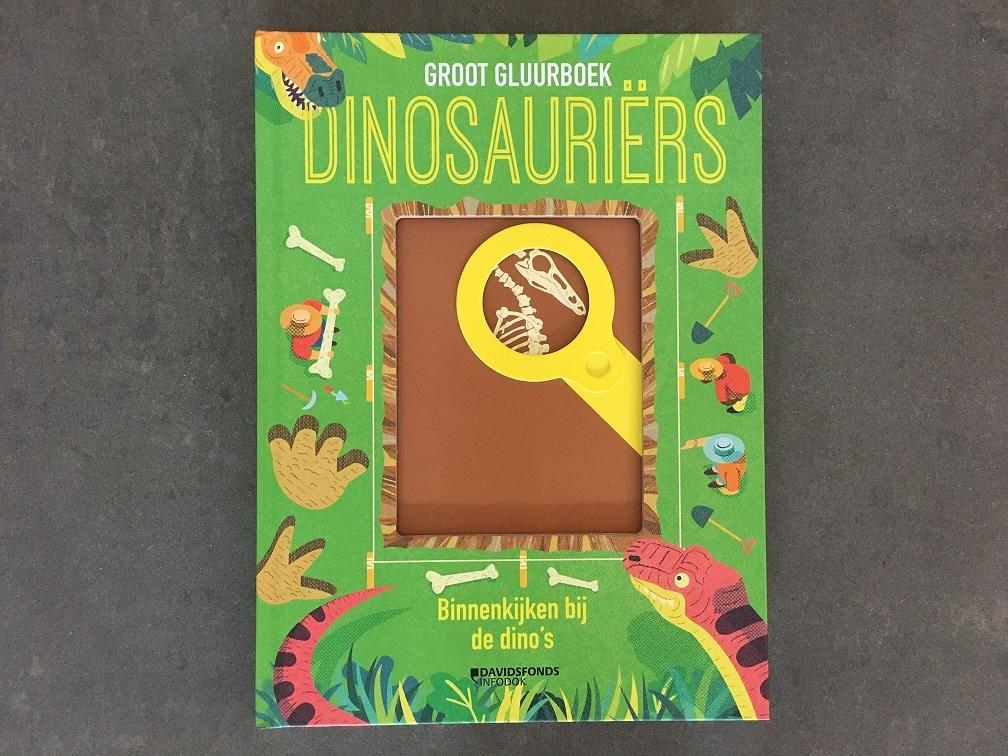Groot gluurboek dinosauriërs