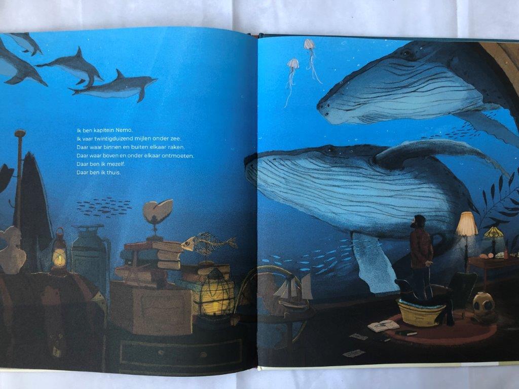 onder water wereld