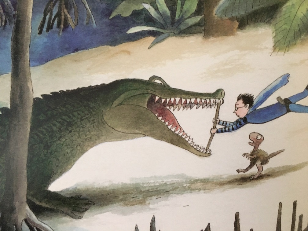 Jake en de T.rex Thé Tjong-Khing