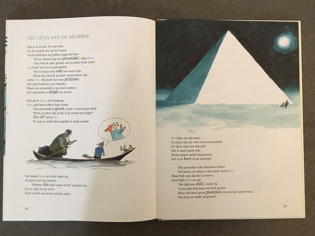 Vos en Haas: Het land van de Nijl kinderboekenweek 2020