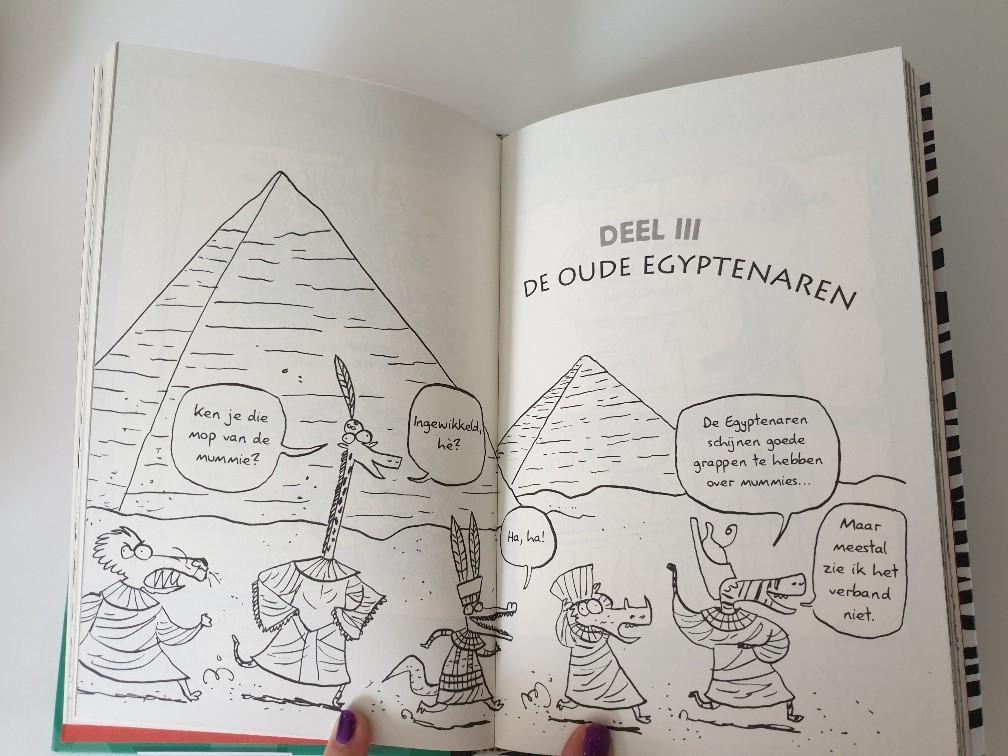 Julis Zebra Gigagrappig Moppenboek