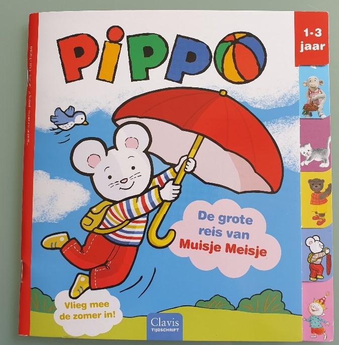 tijdschriften voor kinderen Pippo
