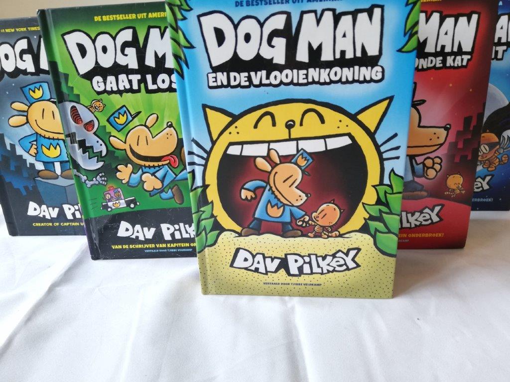 Dog Man en de vlooienkoning Dog Man en de vlooienkoning
