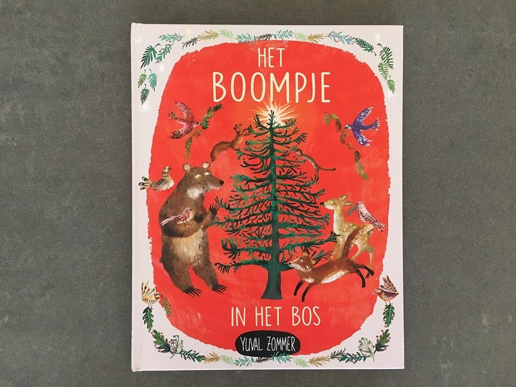 kerst boekje over een boom