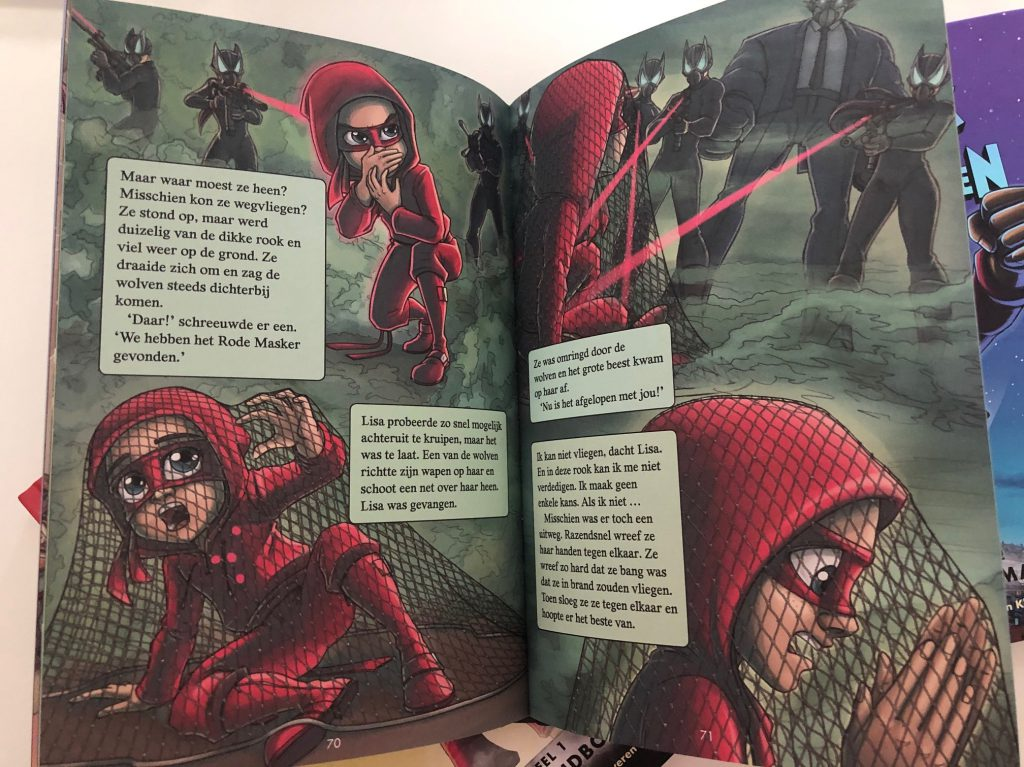 rode masker superheld