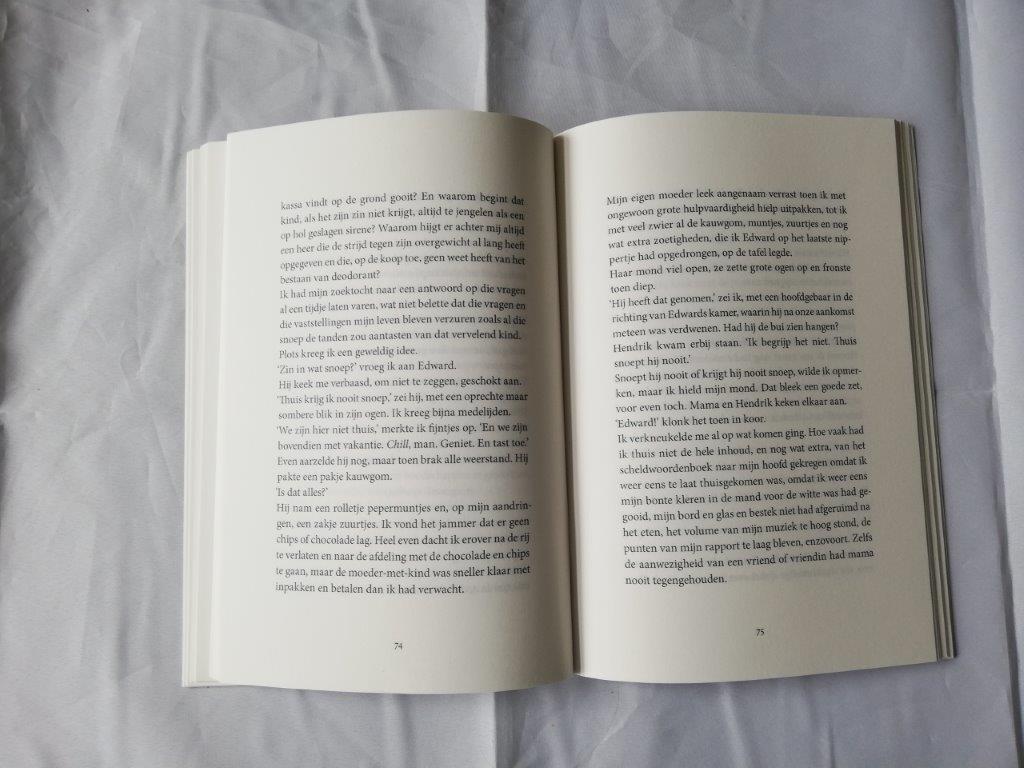bladzijdes uit een boek
