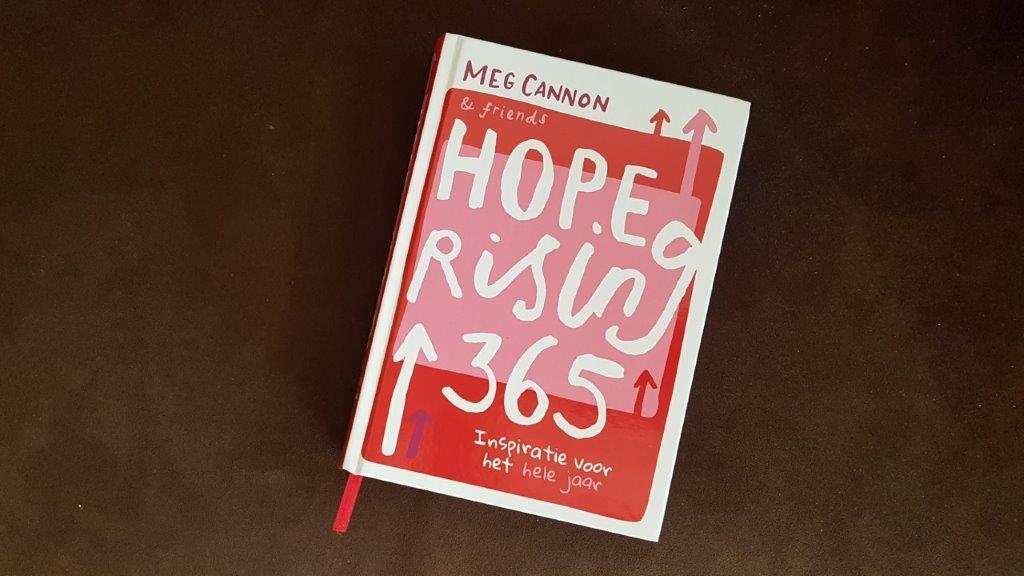 Hope RIsing 365 inspiratie voor iedere dag van het jaar