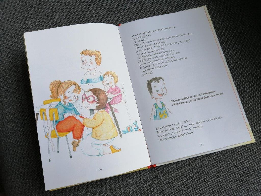 boeken over pesten over dik zijn