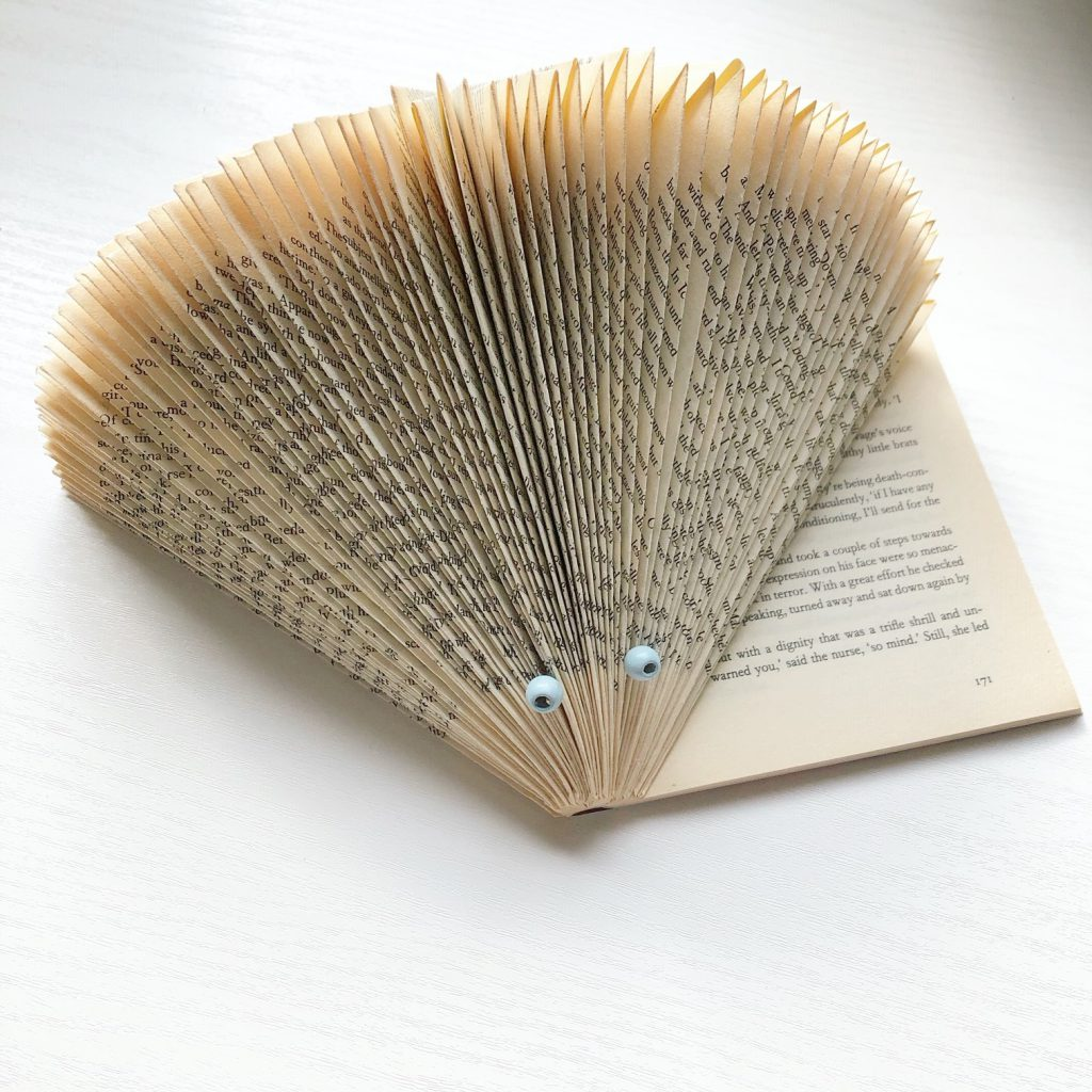 Creatief met oude boeken: Dieren