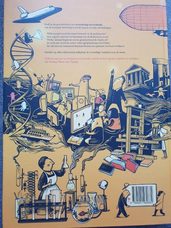 tijdlijn wetenschap techniek