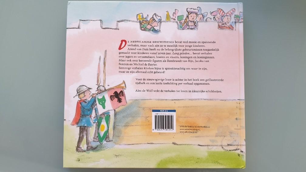De geschiedenis van Nederland in vijftig voorleesverhalen