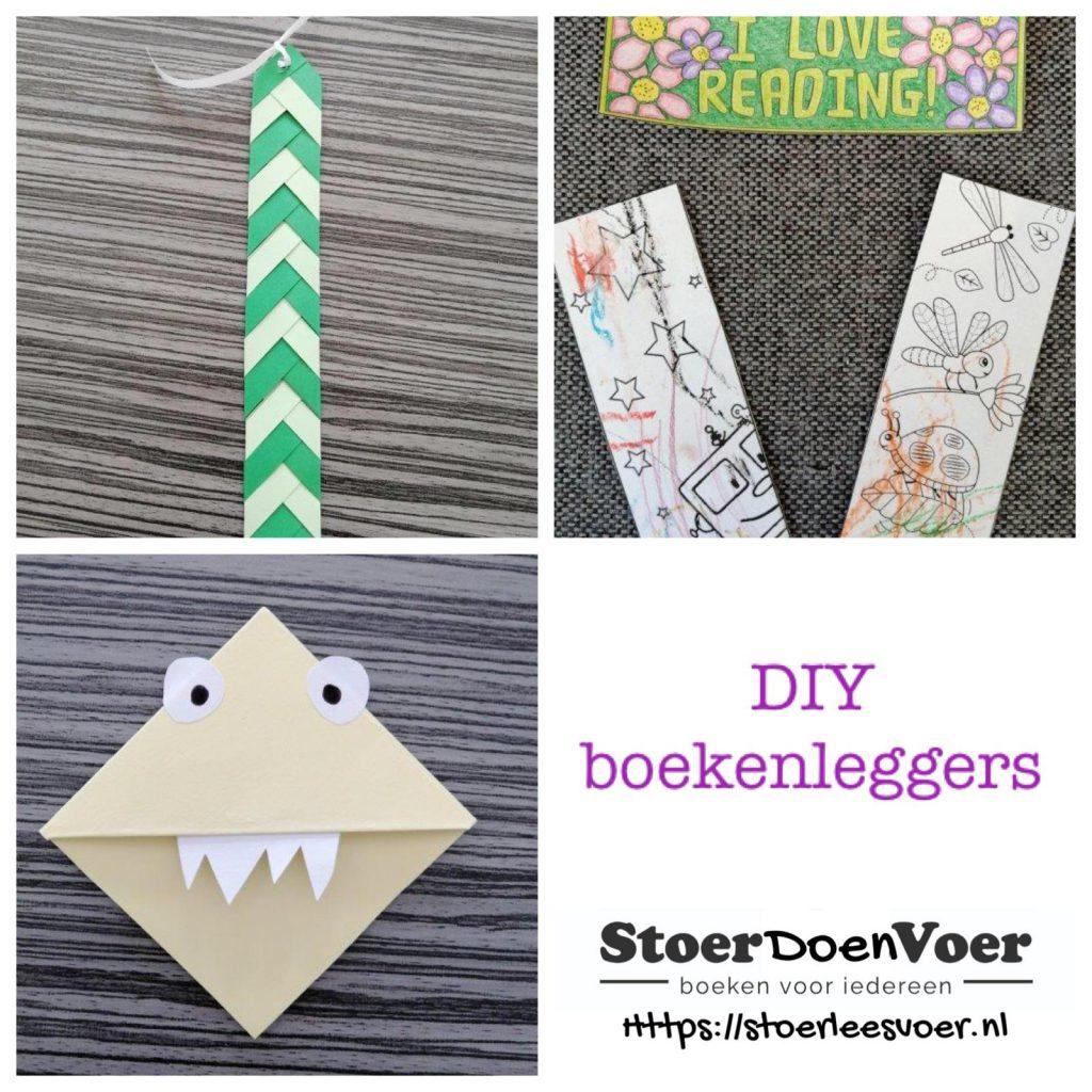 DIY boekenleggers maken