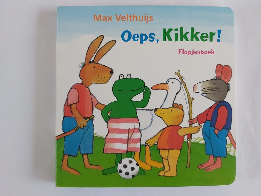 Oeps, Kikker flapjesboek Max Velthuijs