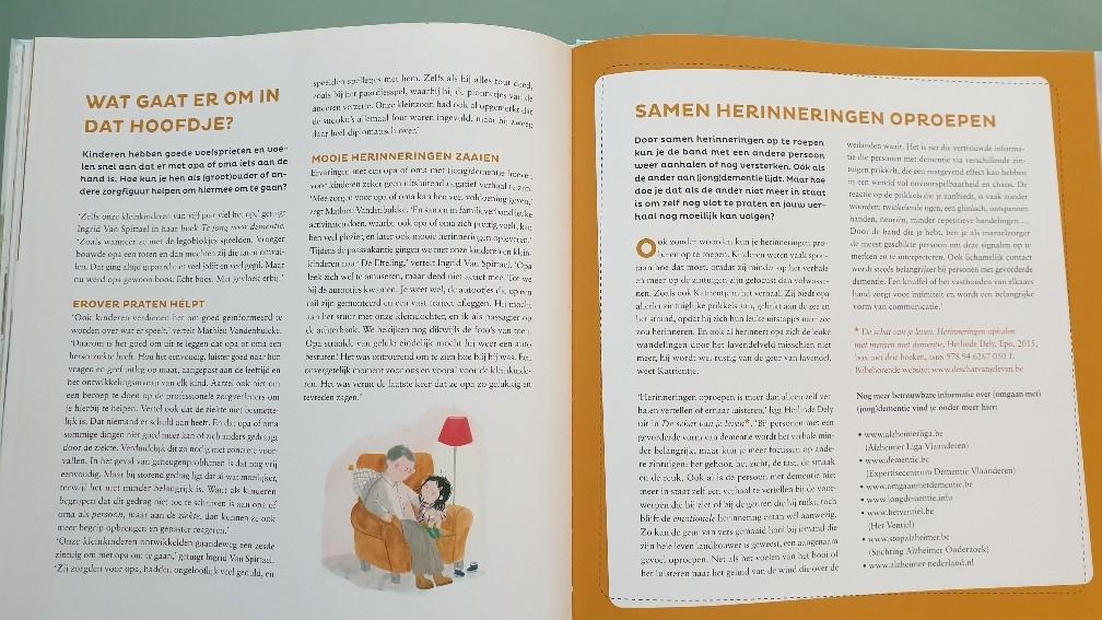 Boek over de gezondheid van opa en oma