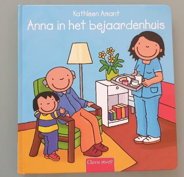 Anna in het bejaardenhuis Boek over de gezondheid van opa en oma
