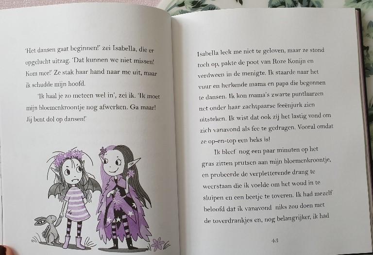 Isabella Maan en Mirabella Sterrenspreuk