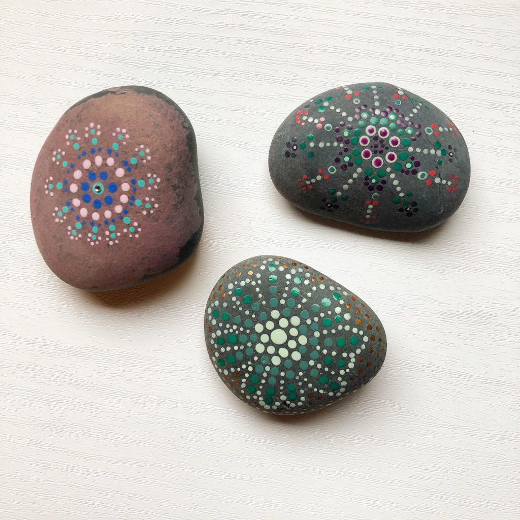 mooie stenen maken