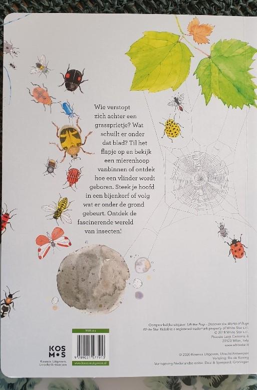 flapjesboek over kriebelbeestjes
