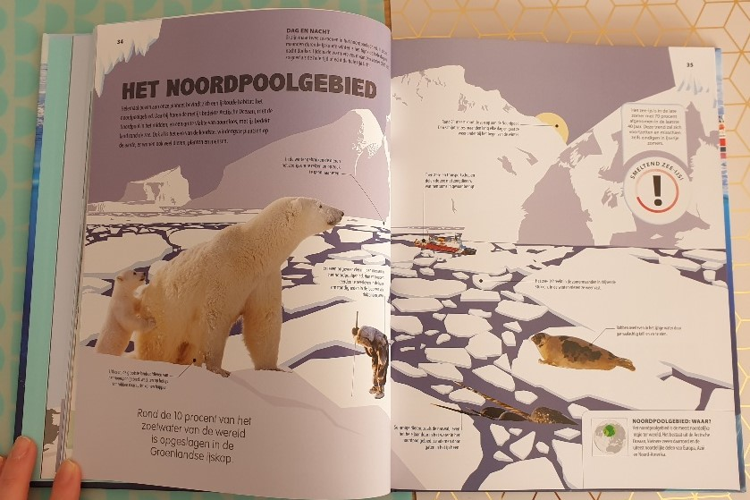 boeken over de zuidpool en de noordpool