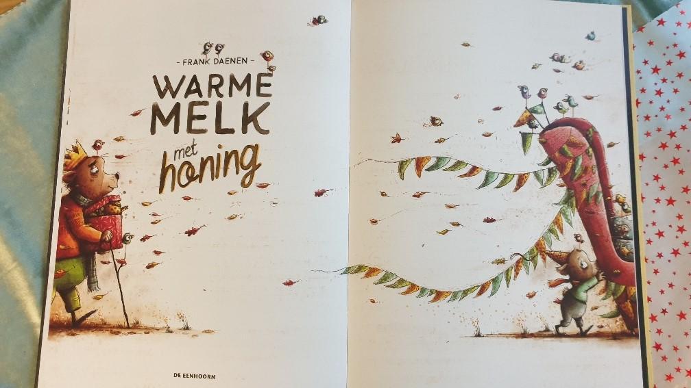 warme melk met honing