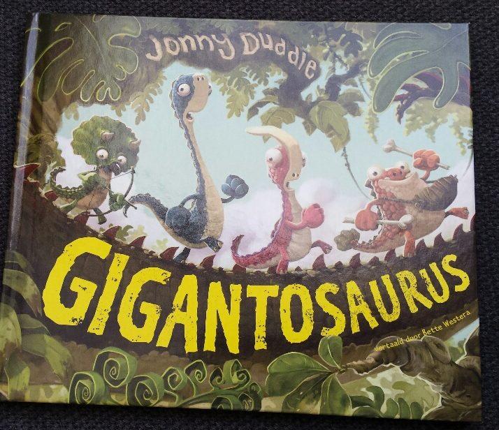 Met rekenogen bekeken gigantosaurus