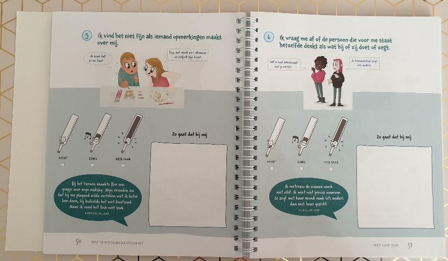 Doeboek voor temperamentvolle gevoelige slimme kinderen