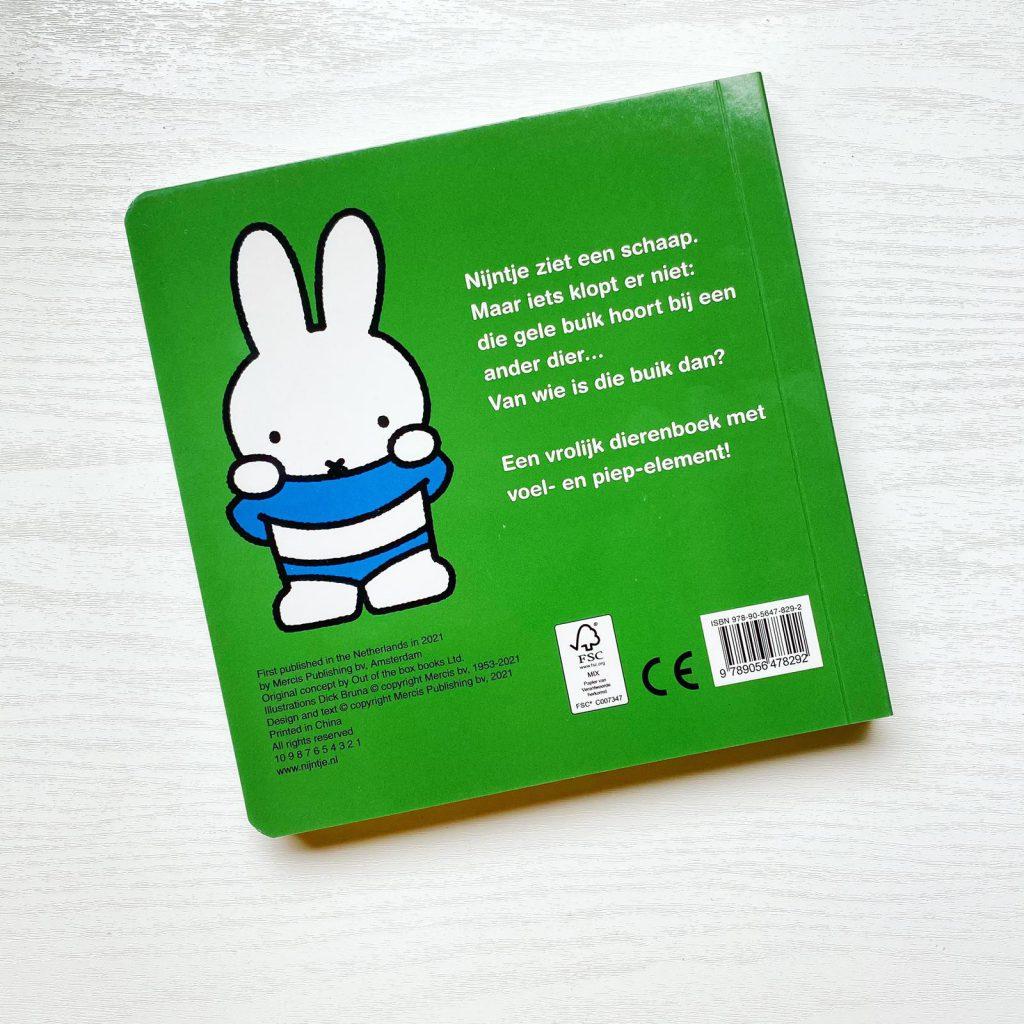 nijntje voelboek flapjesboek