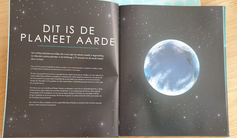 Prentenboek David Attenborough Blauwe Planeet BBC