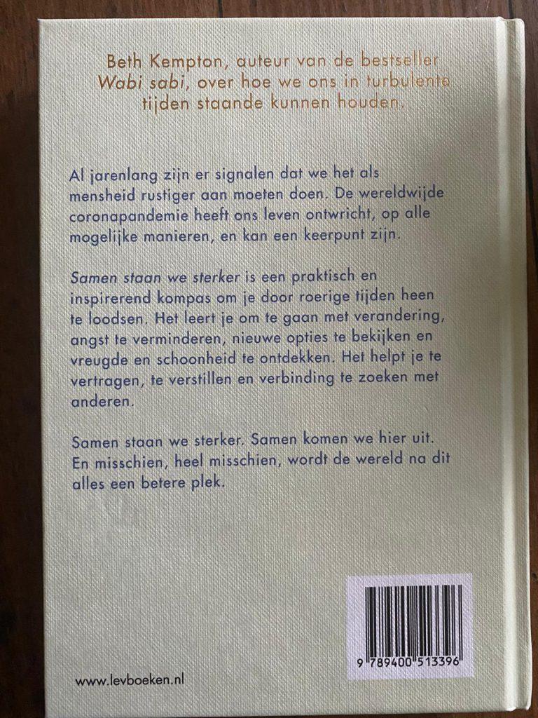 achterkant boek