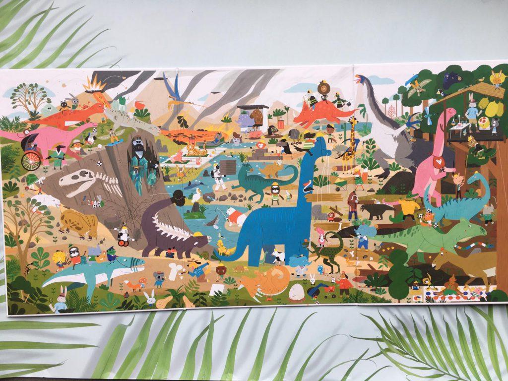 zigzag dinosaurussen