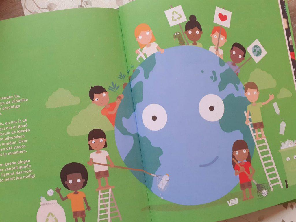 De aarde heeft jou nodig wereldbol