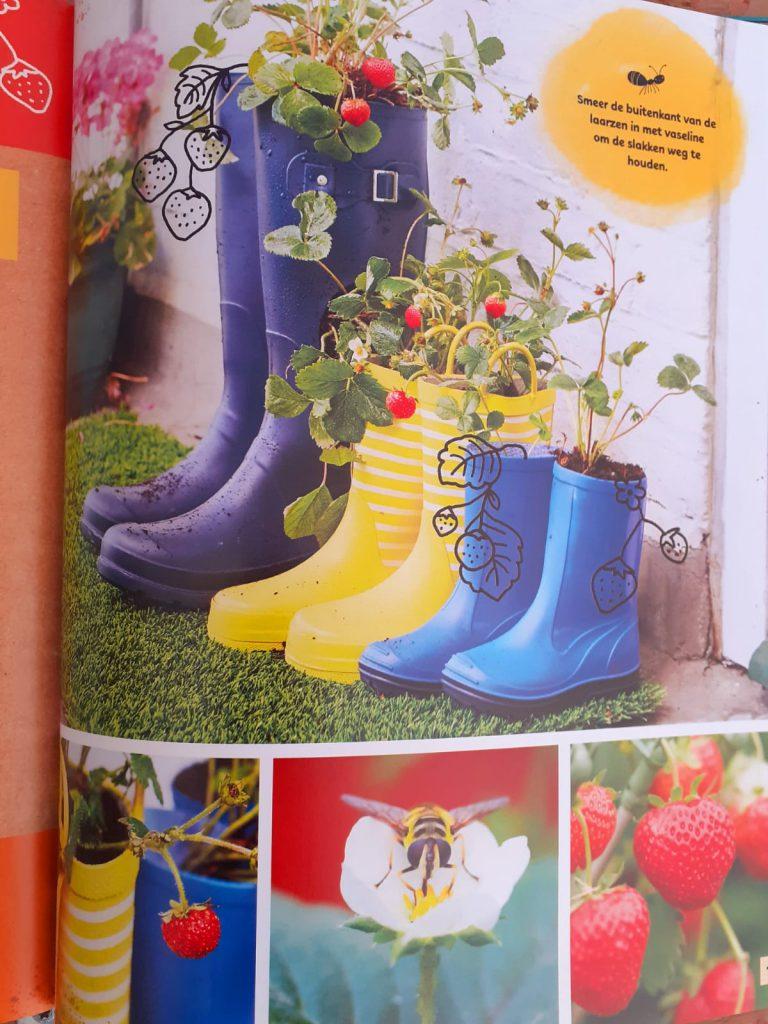 tuinieren is leuk!