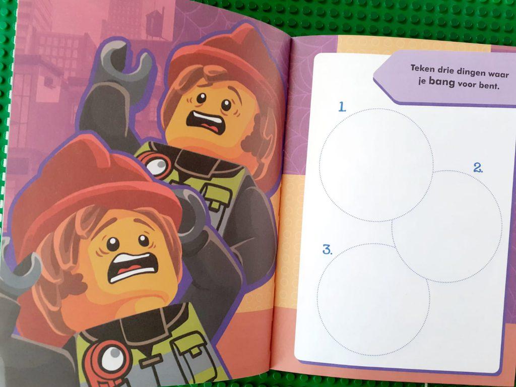 Lego City waanzinnig logboek bang