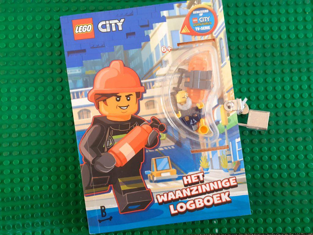 Lego City waanzinnig logboek verpakt