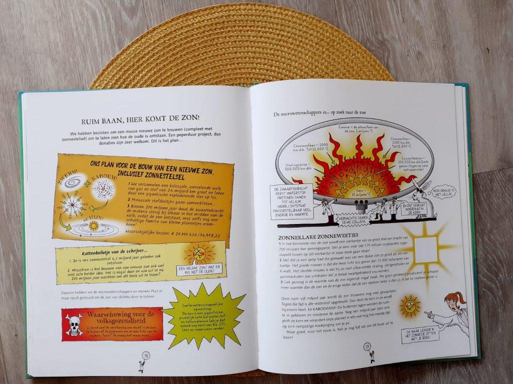 waanzinnige wetenschap zon