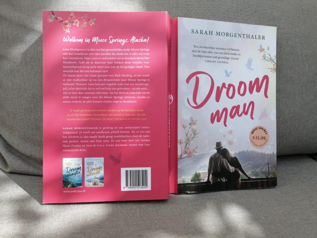 Droomman zwijmelboek voor en achterkant