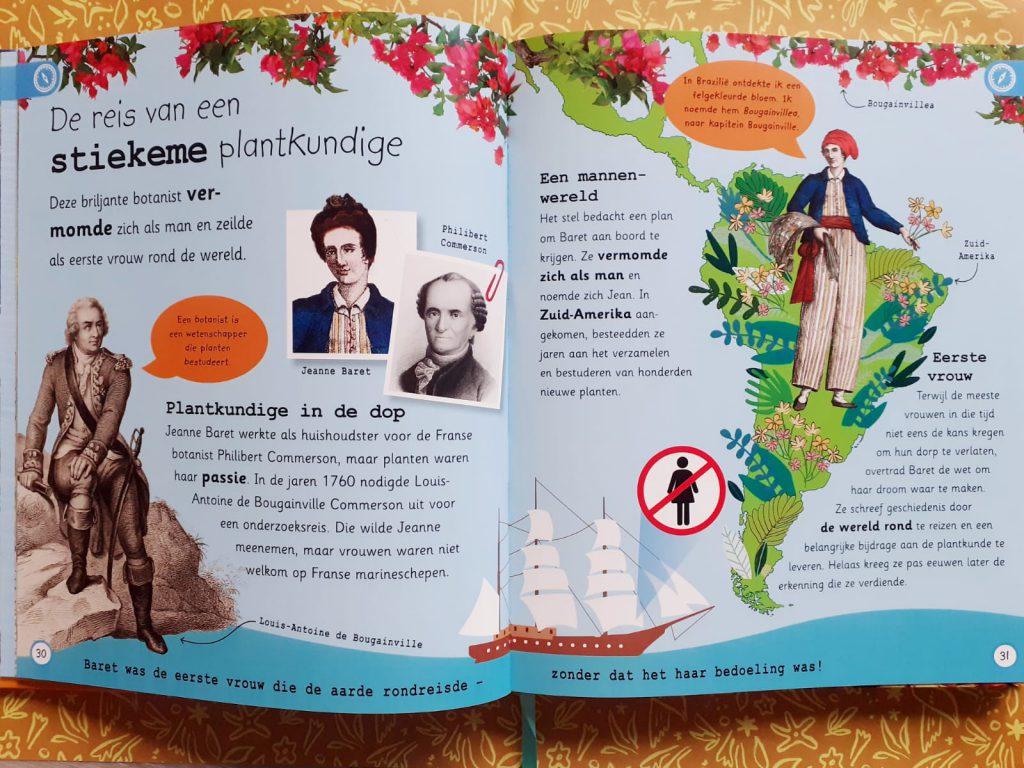 Encyclopedie van alle belangrijke ontdekkingen plantkundige