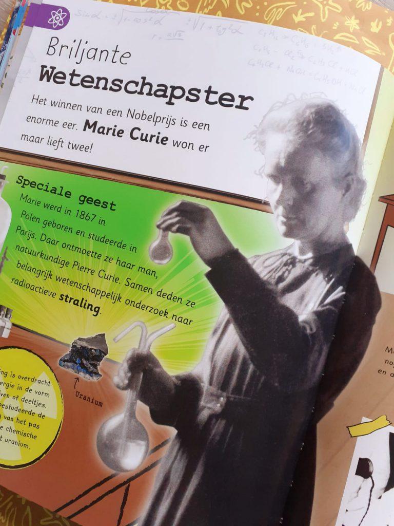 Encyclopedie van alle belangrijke ontdekkingen marie curie