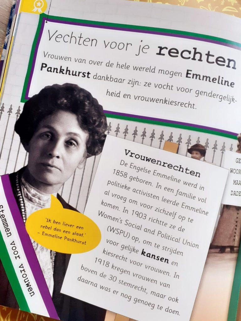 Encyclopedie van alle belangrijke ontdekkingen vrouwenrechten