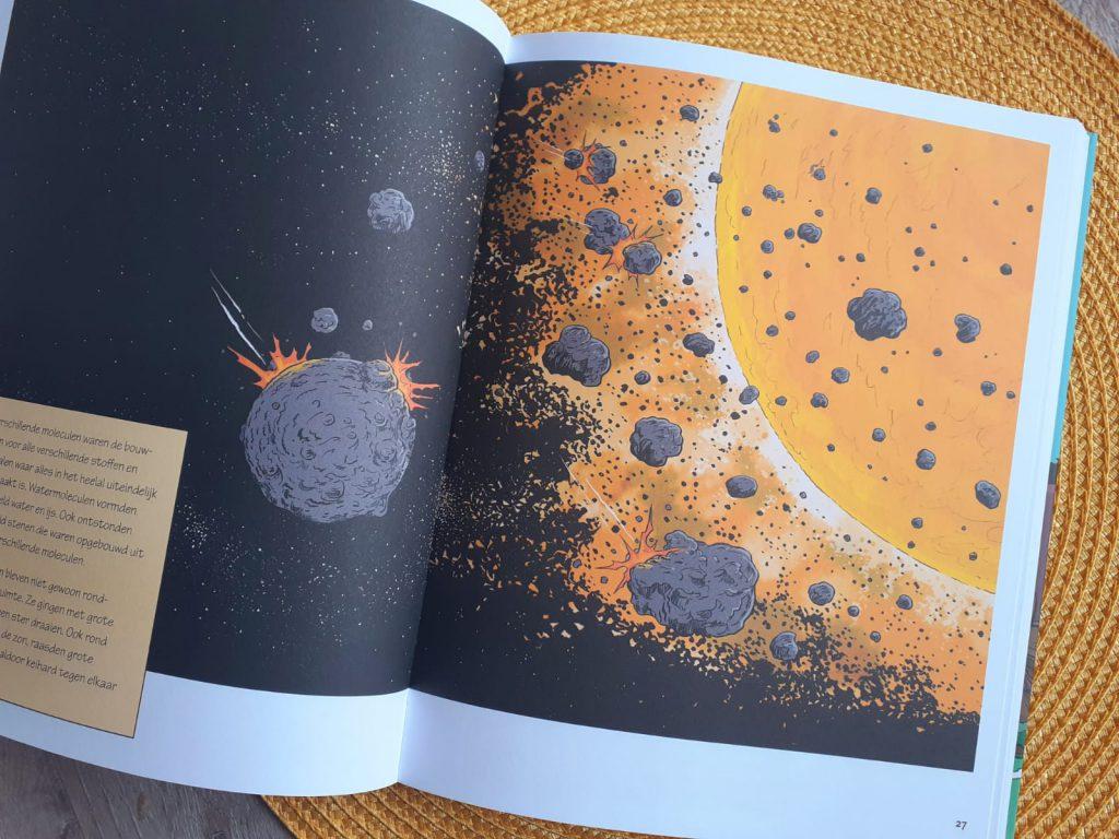 hoe alles begon meteorieten