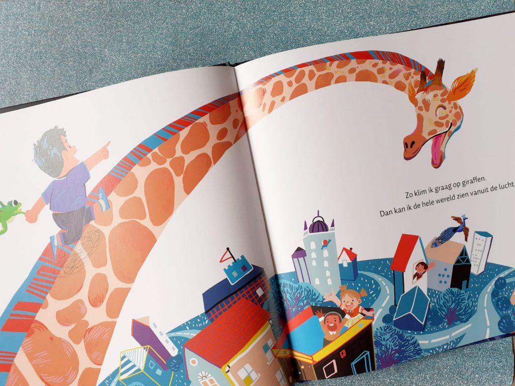 klim eens op een giraf