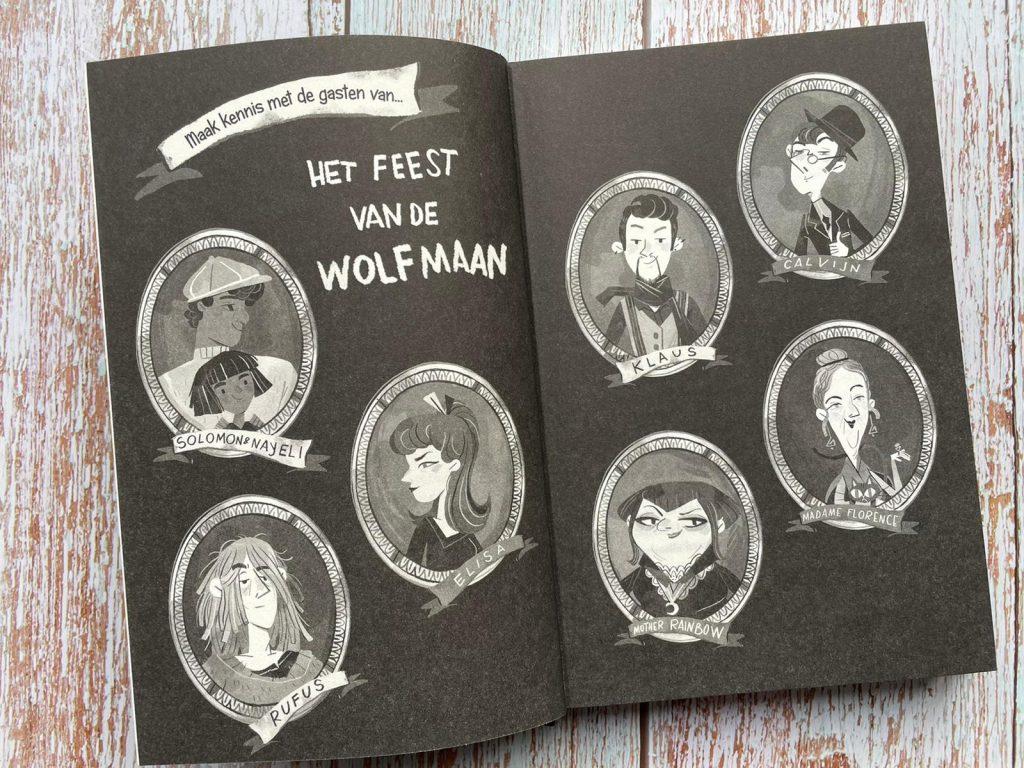 De sterrensteen het feest van de wolfmaan