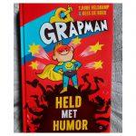 Grapman, held met humor
